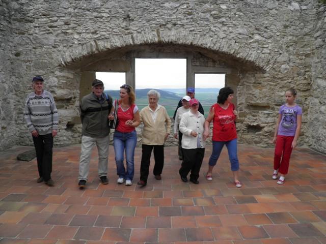 Počas prehliadky hradu